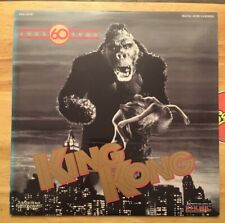 LASERDISC KING KONG 60th Anniversary Edition Stop Animation 1930s NYC Dinosaurs