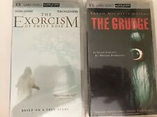 The Grudge & The Exorcism Of Emily Rose (PSP UMD) New Sealed UMD Movies