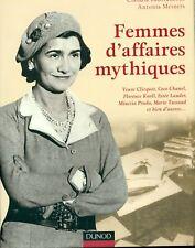 FEMMES D'AFFAIRES MYTHIQUES: COCO CHANEL, KNOLL, PRADA, ESTÉE LAUDER HC BOOK