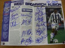 28/12/1999 Autographed Programme: Bolton Wanderers v West Bromwich Albion - Hand