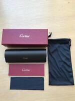 Brillenetui Cartier must de Cartier Paris Inkl.Putztuch und Garantiekarte NEU