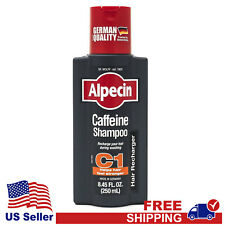 Alpecin Shampoo C1 Caffeine Shampoo for Men 250ml - Free Shipping - US Seller