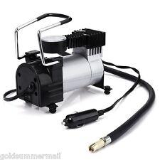 12V électrique Pompe Gonflable Voiture Pompes à air Compresseur Pneu Manomètre