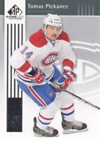 2011-12 SP Game Used Hockey #48 Tomas Plekanec Montreal Canadiens