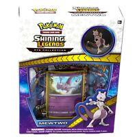Pokemon TCG Shining Legends Mewtwo Pin Collection Box SM77