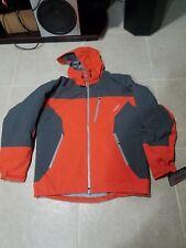 Orange Gortex Cabelas component hunting jacket size medium