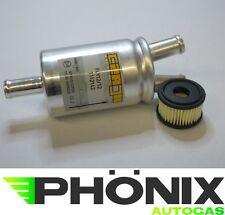 Autogas Filter-Set mit Valtek-Einsatz und Gasfilter Y-12mm KME LPG