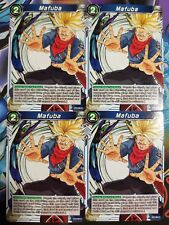 Mafuba 4x BT2-064 C Dragon Ball Super PLAYSET