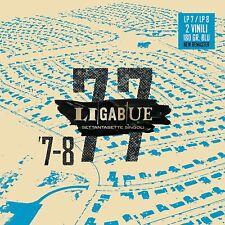 LIGABUE - 77 Singoli (Lp 7+Lp 8) (lim. edition) (180 Gr.) (2021) 2 LP vinile blu