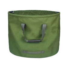 125L Garden Leaf Waste Bags Heavy Duty with Handles Green Military Canvas Fabric