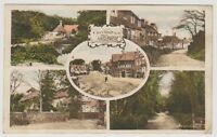 Surrey postcard - Greetings from Haslemere (Multiview) - P/U (A21)
