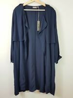 [ SUSSAN ] Womens Navy Trench Jacket NEW RRP$149.95 | Size AU 16 or US  12