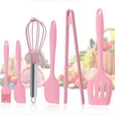 6Pcs/Set Kitchen Bakery Silicone Cooking Tool Scraper Shovel Kitchenware Z