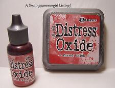 Distress Oxide Ink Pad and Reinker Fired Brick Tim Holtz Ranger Stamping Set
