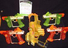5~Tiger Lazer Tag Team Op Laser Blaster Gun Phoenix LTX HUD Glasses Scope