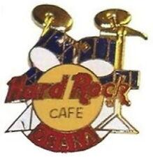 Hard Rock Cafe OSAKA 1990's Blue DRUM Kit PIN DRUMS Boxed 3LC HRC Catalog #7056