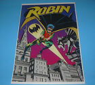 DC COMICS THE NEW TEEN TITANS ROBIN POSTER PIN UP