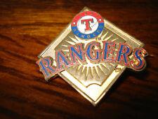 Texas Rangers Baseball Diamond Pin