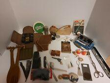Vintage Assorted Mixed Lot of Men's Junk Drawer, Antique, Vintage, & Other Item