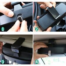 Car Auto Sunglasses Holder Storage Glasses Hold Case Sun Visor Clip Universal a