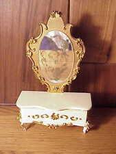 Vintage Spielwaren Boutique Szalasi Rococo Doll Furniture - Dresser & Mirror #1