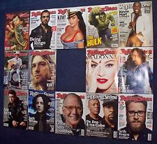 Wholesale Lot of 14 Different Rolling Stone Magazine 2015 No Label USA Edition