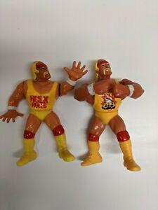 WWF Hulk Hogan 1990 Series 1 Action Figure Titan Sports WWE Wrestling Vintage