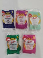 Vintage 1990s McDonald's Happy Meal Barbie Doll Toys Set of 5 made in 1996