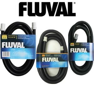 Fluval Ribbed Hosing Fish Tank Pipe Hose Rubber Connector For Performance Filter