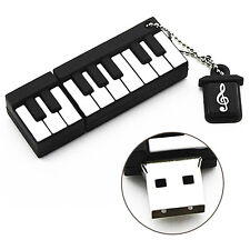 Music Keyboard Piano Shape Fun Novelty 16GB USB Flash Drive Pen Memory Stick Gif
