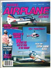 MODEL AIRPLANE NEWS Magazine March 1989 Sig Riser 100