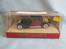 Matchbox Models of Yesteryear Y24-1 1928 Bugatti T44 Car Issue 24 Boxed