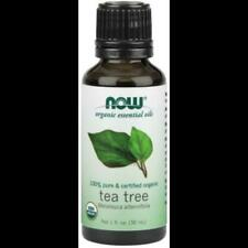 Organic Tea Tree Oil 1 Oz Now Foods Aromatherapeutic