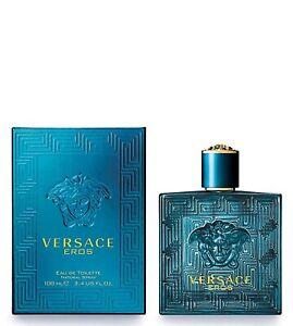 Versace Eros by Versace 3.4oz100ml EDTEau de Toilette Spray Men's Cologne