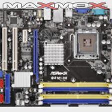 ASRock G41C-GS - 2.0 - Mainboard Mikro-ATX, LGA775-Sockel, G41, Gigabit LAN, ...