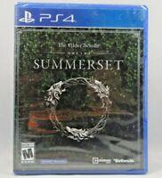 The Elder Scrolls Online: Summerset (Sony PlayStation 4, 2018) New Sealed !