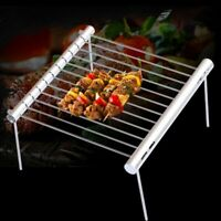 Portable Stainless Steel BBQ Grill Folding Mini Pocket Barbecue Accessories