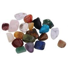 20 pierre naturelle en cristal polie collection de spécimens de pierre