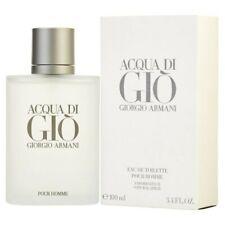Aqua Acqua Di Gio Eau de Toilette 3.3 / 3.4 NEW BOX 100% AUTHENTIC