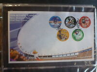 NEW ZEALAND 1996 OLYMPIC GAMES SET 5 STAMPS FDC FIRST DAY COVER