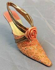 "Just The Right Shoe ""Wrapped In Roses� By Raine #25497 Coa In Original Box Mint"