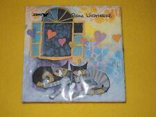 20 Servietten Katzen FLYING HEARTS  Rosina Wachtmeister 1 Packung OVP stewo