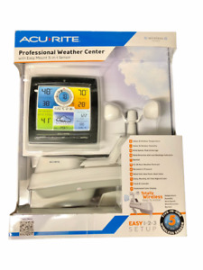 AcuRite Professional Weather Center With 5-In-1 Wireless Sensor 01528/01533 New