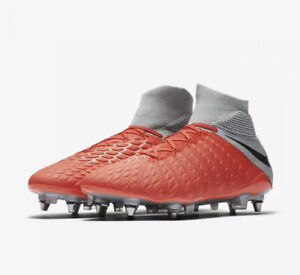 Nike Jr Hypervenom Phantom 3 Elite DF FG ACC Soccer Cleats AJ3791-600 Size 6Y
