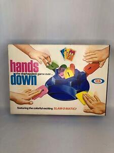 Vintage 1965 Ideal Hands Down game - complete