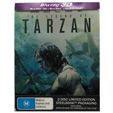 The Legend of Tarzan (Blu-ray Disc, 2016, 2-Disc Set, Steelbook)