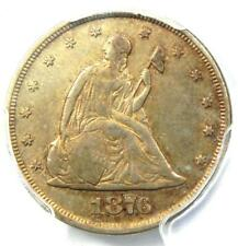 1876 Twenty Cent Coin 20C - PCGS XF Details (EF) - Rare Date 1876-P Coin!