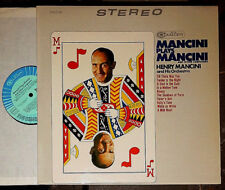 HENRY MANCINI PLAYS MANCINI AND OTHER COMPOSERS LP (CAS 2158)