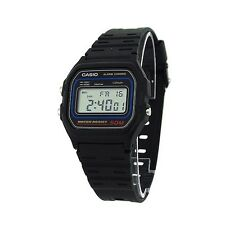 New Casio W59-1V Classic Digital Sports Watch Waterproof - Black  For Unisex