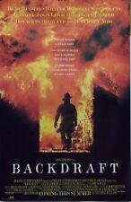 Backdraft 23x35 Firefighter Movie Poster Kurt Russell